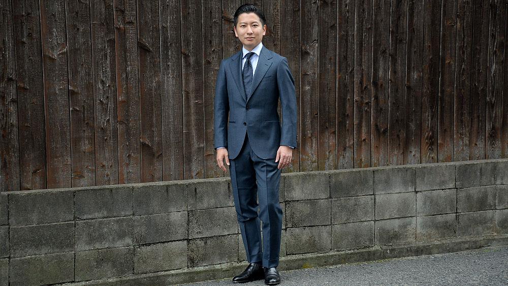 姫路でゼニアのオーダースーツ