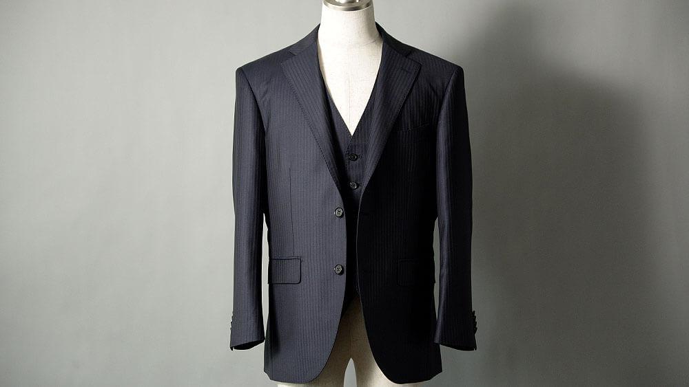 ゼニアのトロフェオのスーツはEGRET