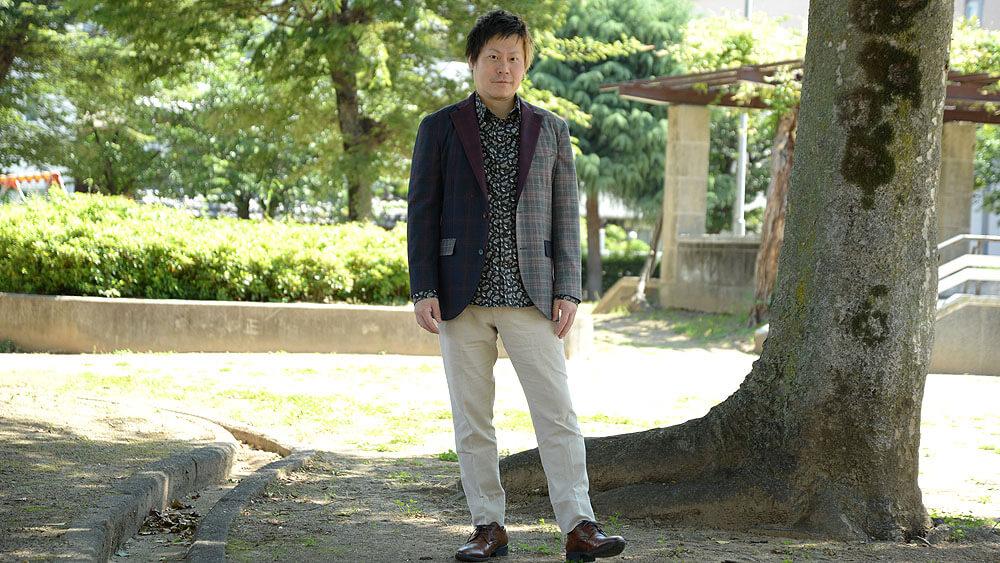 書き下ろし館長田様のオーダースーツ