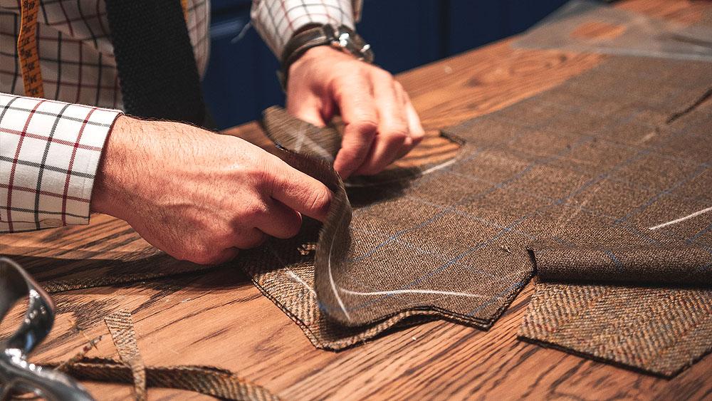 姫路で手縫いのボタンホール