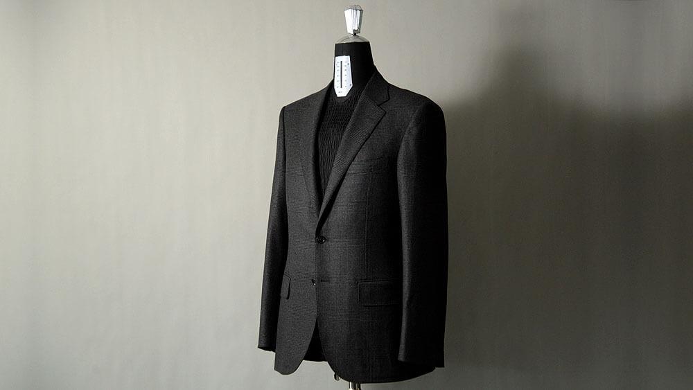 お客様仕上がりのスーツのご紹介 ゼニア・ドラゴ・レダ